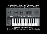 TAL-BassLine - Free VST bass synth - vstplanet.com