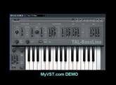 MyVST Demo: TAL-BassLine