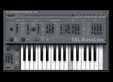Trying out the TAL-Bassline
