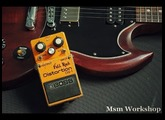 Boss DS-1 distortion pedal, Full Rock mod, Msm Workshop