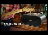 KORG STAGEMAN 80: The Perfect Performance Partner with Rhythms