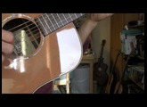 Takamine EAN10 and AN15 comparison, very quick