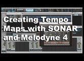 How To Create Easy Tempo Maps in SONAR with Melodyne 4 - www.cakewalk.com
