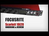 Focusrite Scarlett 18i20 unboxing : FR