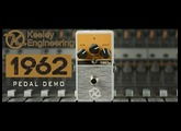 Keeley 1962 British Overdrive Guitar Pedal Demo