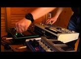 Roland TB-3 touch bassline synthesizer and MPC, Acid House Jam Session