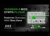 Tassman 4 Modular Synth Plugin - Tour & Review With Dom Kane