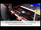 """""""Chromatique"""" Vangelis demo Sound bank for Jupiter 80. Opera Sauvage."""