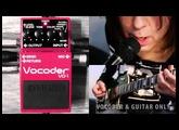 BOSS VO-1 Vocoder – SOUNDS & SETTINGS