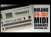 Roland Tr-707 séquencez en midi externe avec votre logiciel MAO : Tuto FR