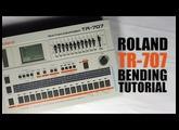 Roland TR-707 Bending : Tuto FR