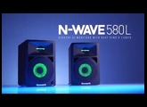 N-Wave 580L - DJ Monitors With Sync'd Lights