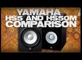 Yamaha HS5 and HS50M Comparison