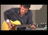 Daddy Mojo Stringed Instruments - Yellow Pinto - Montreal Guitar Show 2012 by Brice Delage
