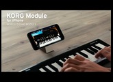 KORG new Module for iPhone and iPad with new microKEY/Air