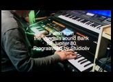 La fête Sauvage Cover. Synth Demo Patch from the Vangelis'sound bank for Jupiter 80. A tribute