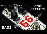 Cog Effects Mini 66 Overdrive - BASS Demo