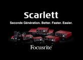 Focusrite Scarlett - interface audio nouvelle génération 2016 (vidéo de La Boite Noire)