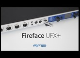 MADI, Thunderbolt technology and USB 3 Audio Interface - RME Fireface UFX+