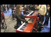 NAMM 2016 Nord Piano 3 Performance with Rachel Flowers