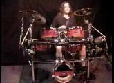 Dale Moon (Travis Larson Band) playing R.E.T. Percussion kit