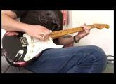 Fender Custom Shop 1957 Heavy Relic Stratocaster - Black over Pink Paisley