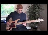 Pedulla Rapture J2 5-string demo with David Buda