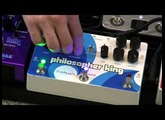 Philosopher King Pigtronix Compressor Sustainer Swell Fade Review Demo w worship leader Jared Stepp