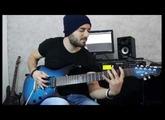 Ernie Ball Music Man JP7 Blue Dawn  - Metal