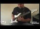 Lovrek Krisztián - Ernie Ball Music Man John Petrucci 7 Strings Signature White Pearl