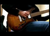 Davide Petrocca, guitar.Playing Jazz with a Harley Benton cst-24 HB