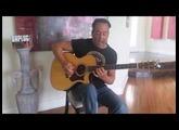 Chuck Morrongiello play with the ToneWoodAmp