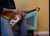 Fender Vaporizer Flying V Humbuckers