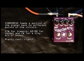 SiB Electronics - MR VIBROMATIC vibe vibrato effects pedal demo HD review