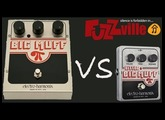 Electro Harmonix Big Muff vs Little Big Muff