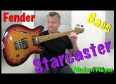 Fender Modern Player Starcaster Bass Guitar Review