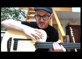 Godin A4 Ultra fretless demo