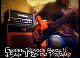 Slap test with Fender Roscoe Beck V