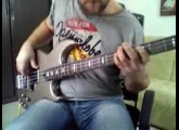 Funky groove with Yamaha BB 614