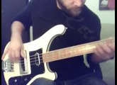 Some grooves with Rickenbacker 4001 (First Try)