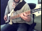 Dolly Fisher | Ghinzu Bass Cover | Rickenbacker 4001