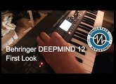 Behringer DeepMind 12 Poly  - first look at Studio Stekker