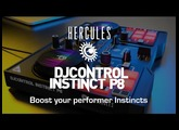 Hercules DJControl Instinct P8 - From mix to performance