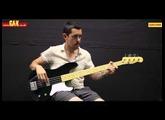 Squier Vintage Modified Cabronita Precision Bass - Demo at GAK