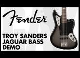 Fender - Troy Sanders Jaguar Bass Demo at GAK