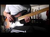 Bass Fender Precison Road Worn 50s