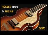 Höfner 500/1 64 Reissue - Demo
