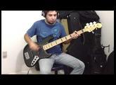 Baixo Fender Jazz Bass american deluxe 2010