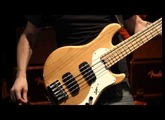 Pete Griffin Jams on the Fender American Deluxe Dimension Bass V HH