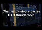 Youtips: UA Chaîner interfaces Apollo/Apollo Twin en Thunderbolt